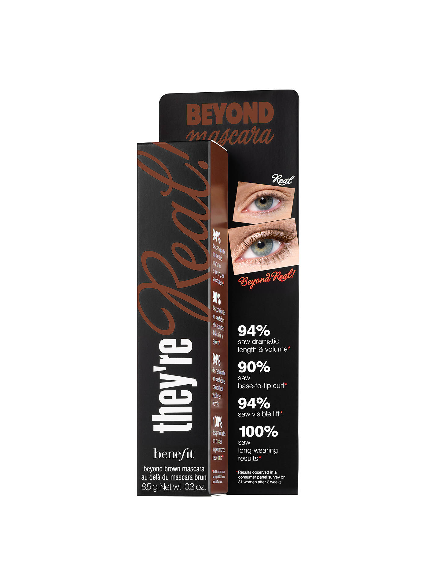 BuyBenefit They're Real! Colour Mascara, Beyond Brown Online at johnlewis.com