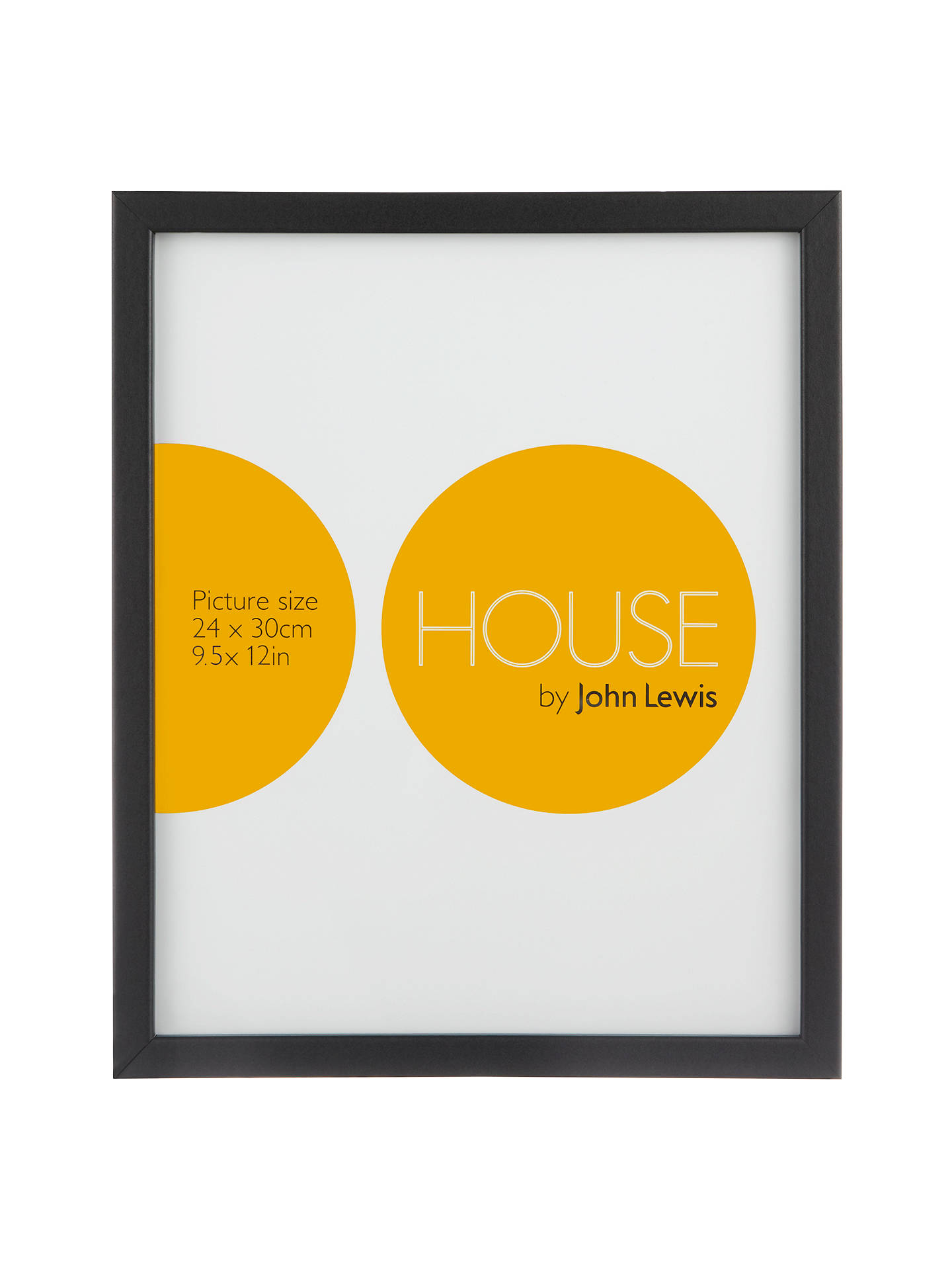 House By John Lewis Mdf Wrap Picture Frame 24 X 30cm At John Lewis
