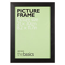 Buy John Lewis The Basics Picture Frame, A4 Online at johnlewis.com