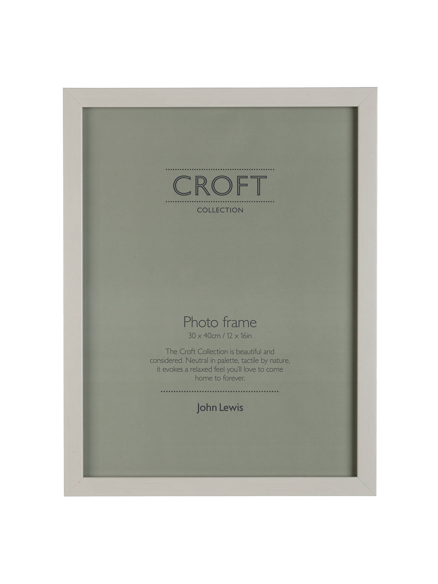 Croft Collection Photo Frame Fsc Certified 30 X 40cm 12 X 16 At