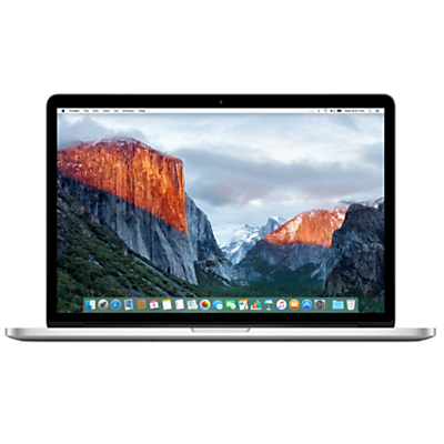 Image of Apple MacBook Pro with Retina Display, Intel Core i7, 16GB RAM, 256GB Flash Storage, 15.4