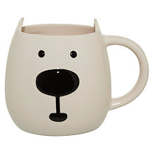 Buy John Lewis 3D Polar Bear Mug Online at johnlewis.com