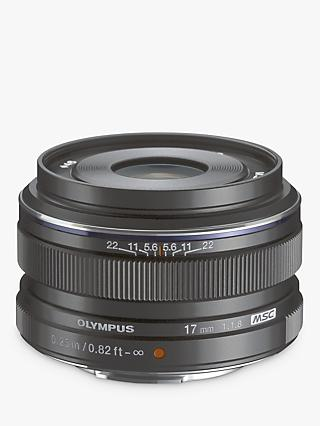 Olympus M.ZUIKO Digital 17mm f1.8 Compact Wide Angle Lens