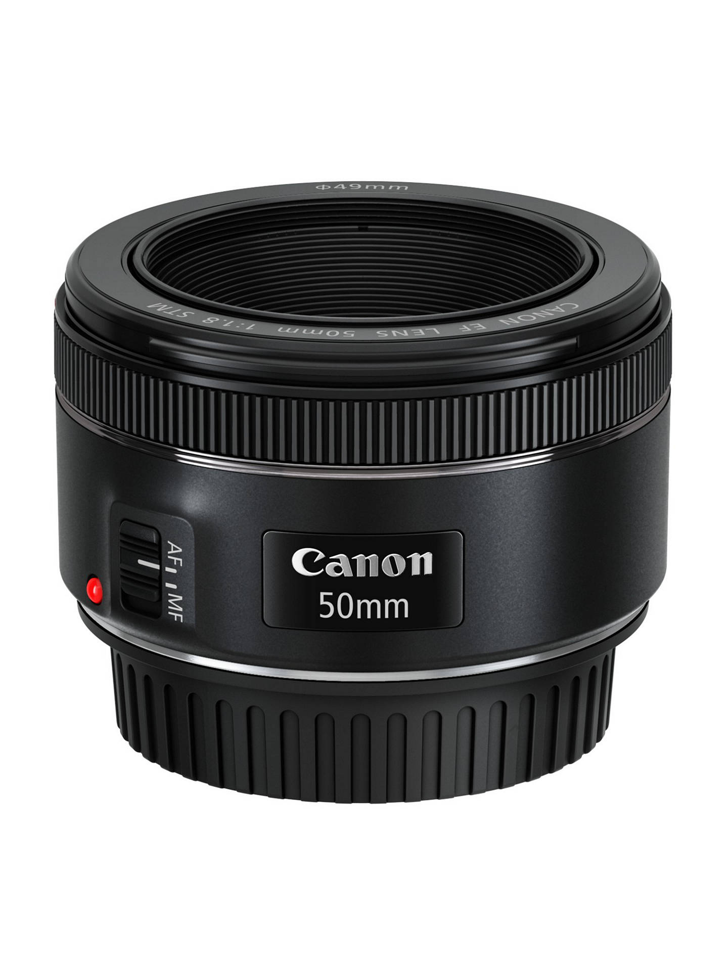Canon Ef 50 F 18 Stm Lens At John Lewis Partners Fix Yongnuo For 50mm Buycanon Online