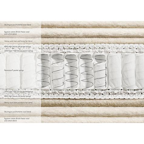 John Lewis Natural Collection Silk 14000 Pocket Spring Mattress Medium King Size Online