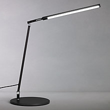 Buy Koncept Z-Bar Solo Mini Desk Lamp, Black Online at johnlewis.com