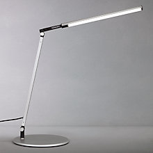 Buy Koncept Z-Bar Solo Mini Desk Lamp, Silver Online at johnlewis.com