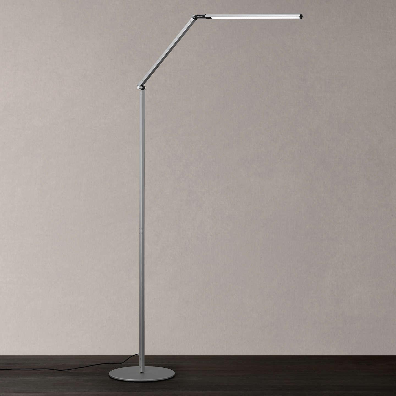 Offer: Koncept Z-Bar Floor Lamp, Silver At John Lewis