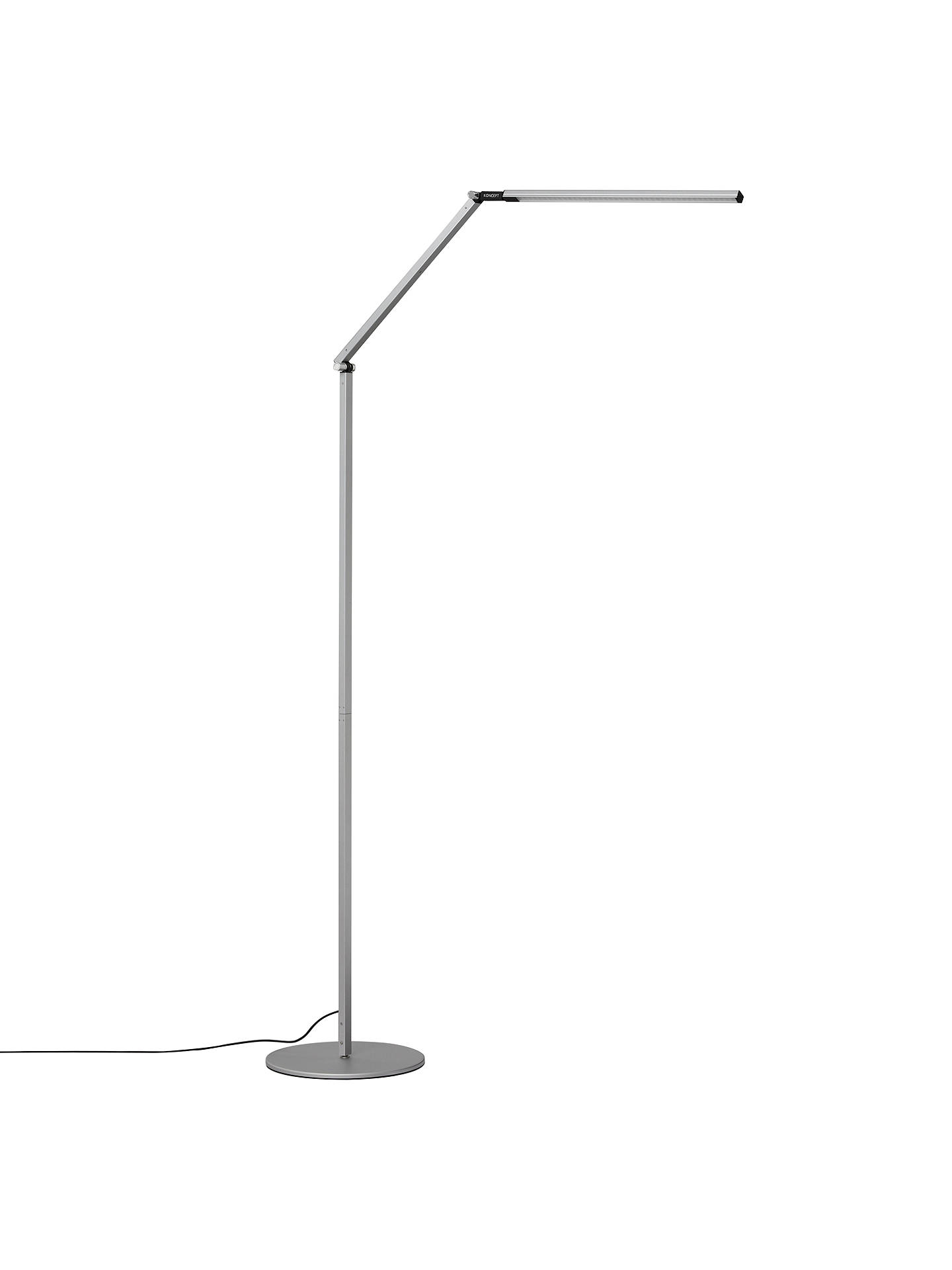 Koncept Z-Bar Floor Lamp, Silver at John Lewis & Partners