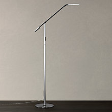 Buy Koncept Equo Floor Lamp, Chrome Online at johnlewis.com