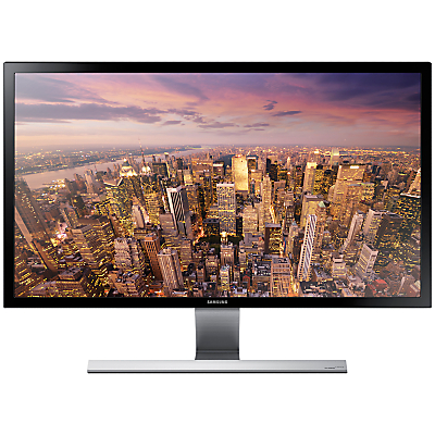 Samsung U28E590DS 4K Ultra HD LED PC Monitor, 28, Black