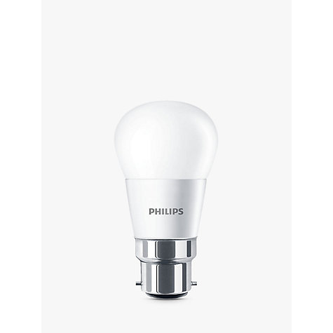Buy Philips 6W BC LED Golf Ball Bulb, Frosted Online at johnlewis.com