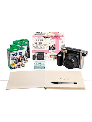 Instant camera for wedding guest book