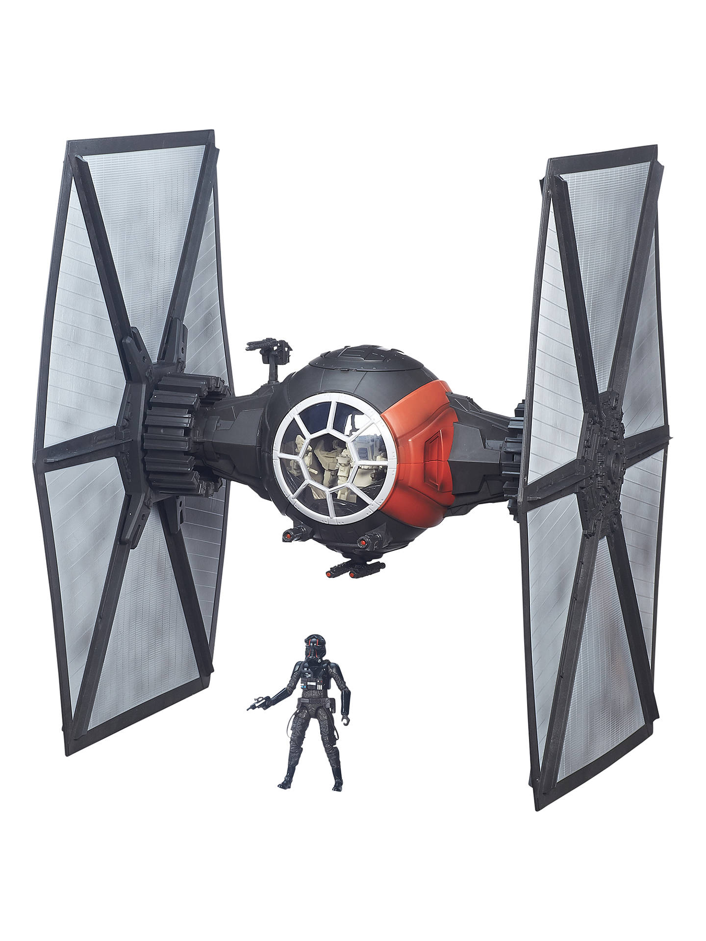 First Order Special Forces TIE Fighter /& Pilot The Force Awakens Star Wars