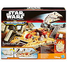 Buy Star Wars Episode VII: The Force Awakens Millennium Falcon Play Set Online at johnlewis.com