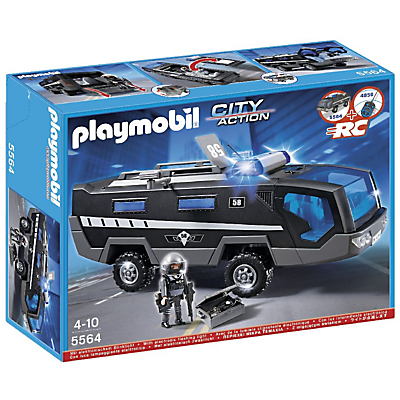 Click here for Playmobil City Action Tactical Unit Vehicle