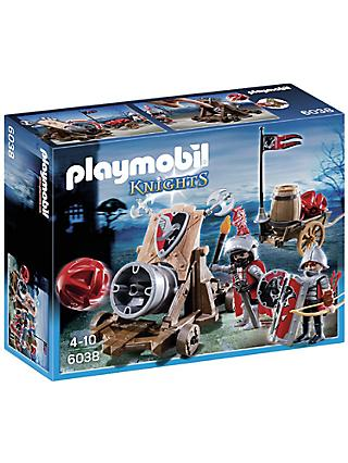Playmobil Knights Hawk Battle Cannon