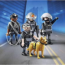 Buy Playmobil City Action Tactical Team Unit Online at johnlewis.com
