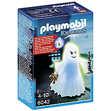 Buy Playmobil Knights Castle Ghost With LED Online at johnlewis.com