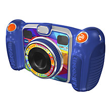 Buy John Lewis Exclusive VTech Kidizoom Duo Digital Camera With 4GB SD Card, Blue Online at johnlewis.com