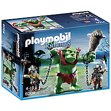 Buy Playmobil Knights Giant Troll Online at johnlewis.com