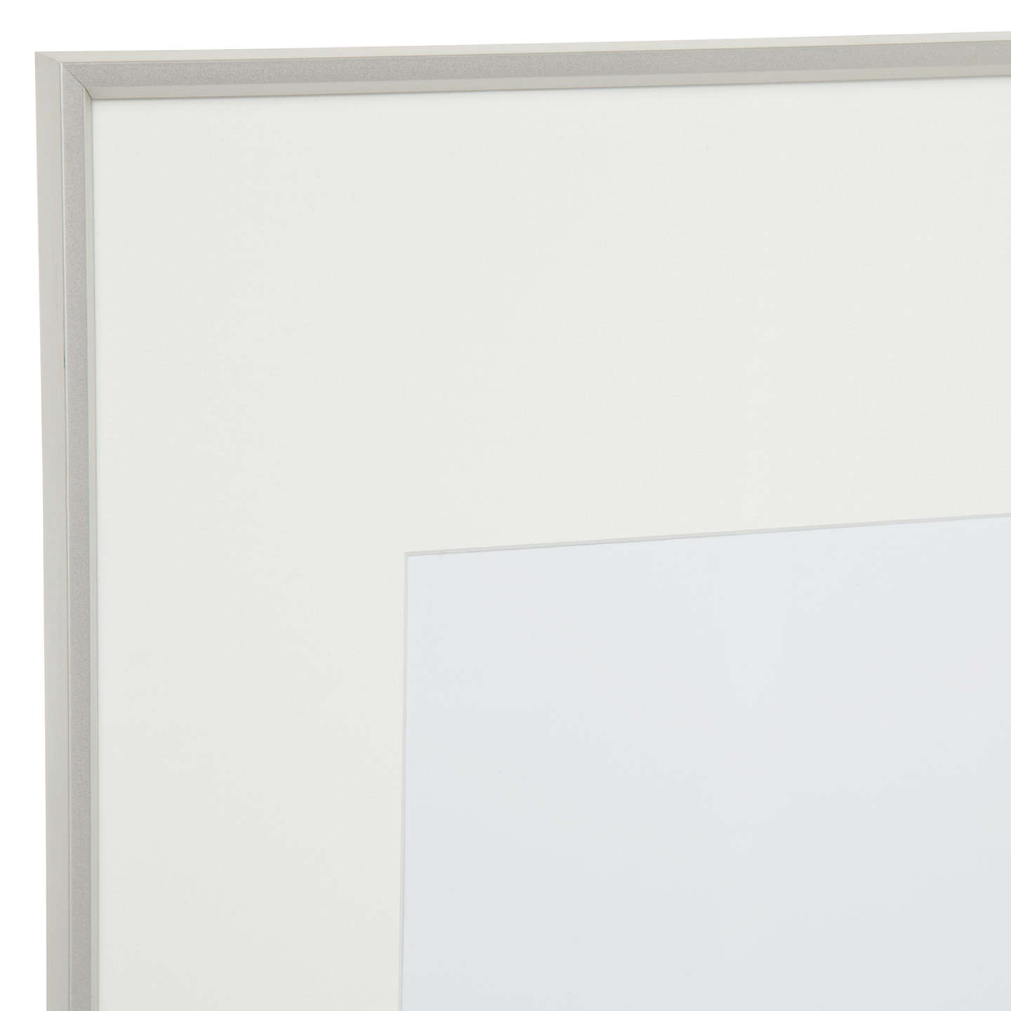 House by John Lewis Aluminium Photo Frame, A1 with A2 Mount at John ...