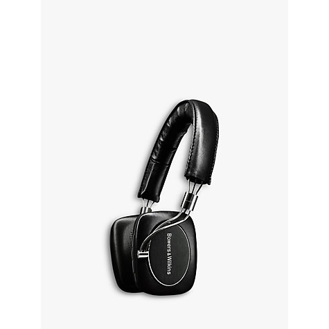 Buy Bowers & Wilkins P5 Wireless On-Ear Headphones, Black Online at johnlewis.com