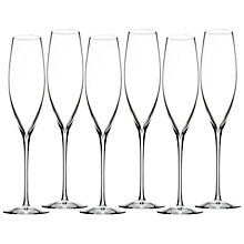 Buy Waterford Elegance Champagne Toasting Flutes, Set of 6 Online at johnlewis.com