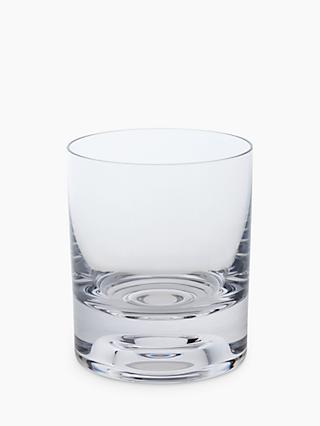 Dartington Crystal Circle Glass Tumblers, Set of 2, 215ml, Clear