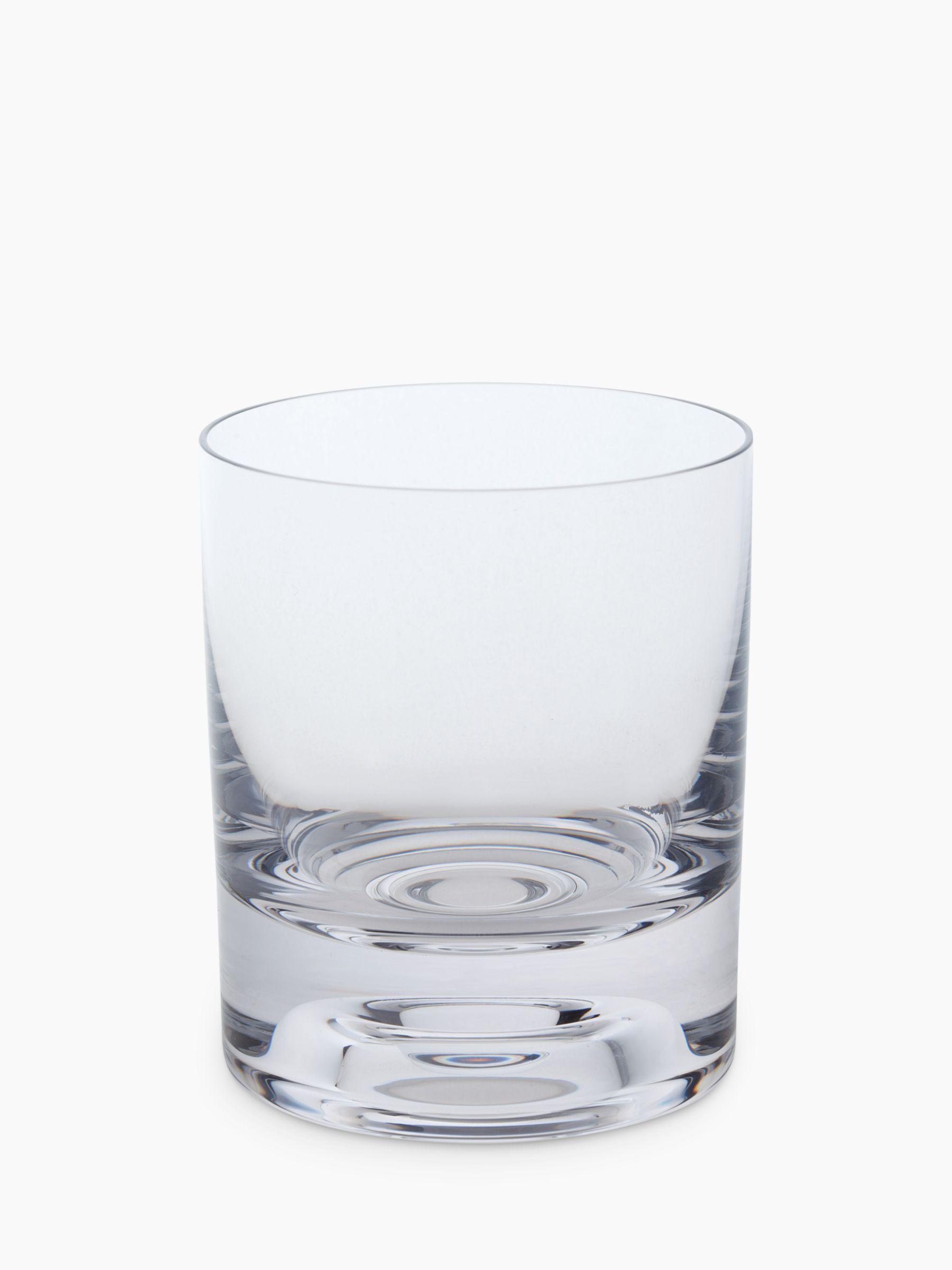 Dartington Crystal Dartington Crystal Circle Glass Tumblers, Set of 2, 215ml, Clear