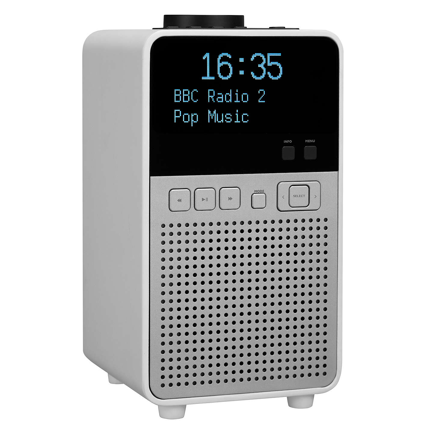 BuyJohn Lewis Astro DAB+/FM Digital Radio with Bluetooth, NFC & LCD Display Online at johnlewis.com