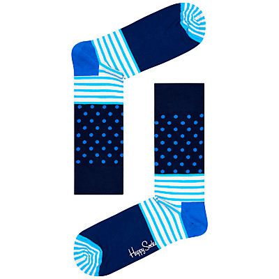 Happy Socks Stripe Dot Socks, One Size