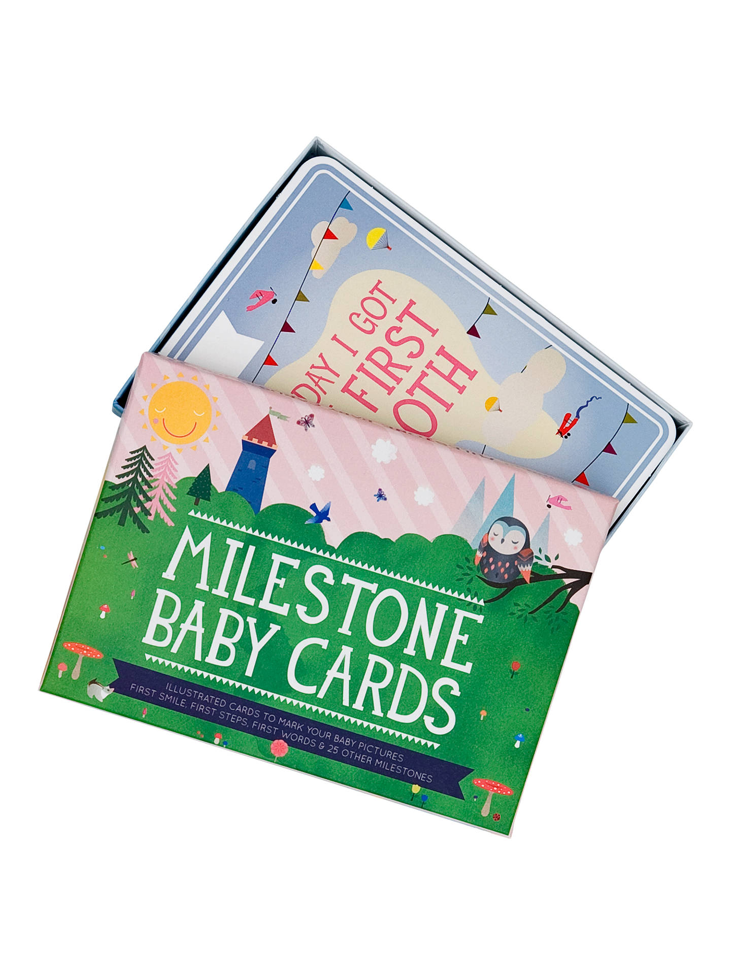 BuyMilestone Baby Cards Set, Pack of 30 Online at johnlewis.com