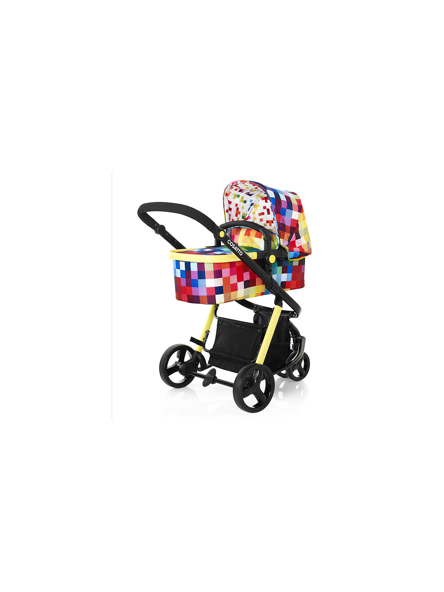 Cosatto Giggle Baby Pushchair, Pixelate at John Lewis & Partners