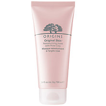 Buy Origins Original Skin™ Retexturising Mask with Rose Clay, 100ml Online at johnlewis.com