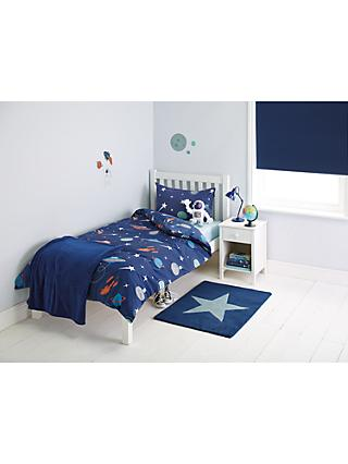 little home at John Lewis Moon & Planets Duvet and Pillowcase Set, Single