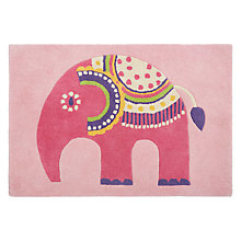 Buy little home at John Lewis Abbey Elephant Children's Rug Online at johnlewis.com