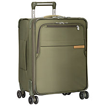 Buy Briggs & Riley Baseline International Carry-On Expandable Wide Body Spinner Cabin Suitcase Online at johnlewis.com