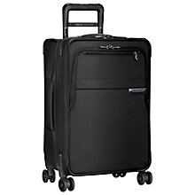 Buy Briggs & Riley Baseline Domestic Carry-On Expandable Spinner 4-Wheel Suitcase Online at johnlewis.com
