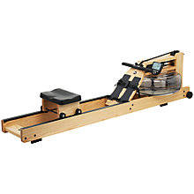 Buy WaterRower Rowing Machine with S4 Performance Monitor, Oak Includes Accessory Pack Online at johnlewis.com