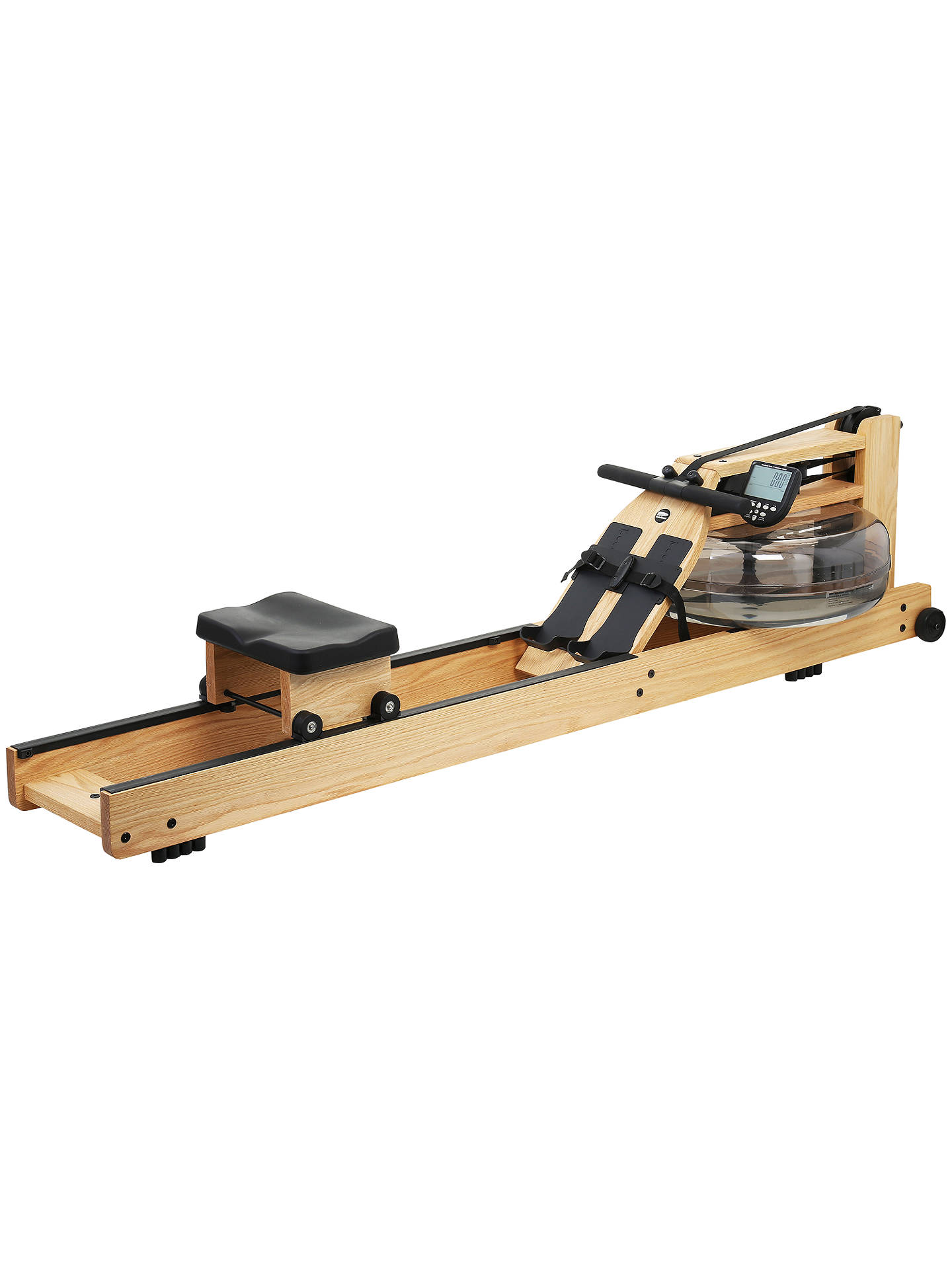 Waterrower Rowing Machine With S4 Performance Monitor Oak