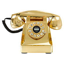 Buy Wild & Wolf Gold Telephone Online at johnlewis.com