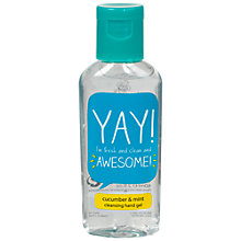 Buy Happy Jackson 'Yay!' Hand Sanitiser, 60ml Online at johnlewis.com