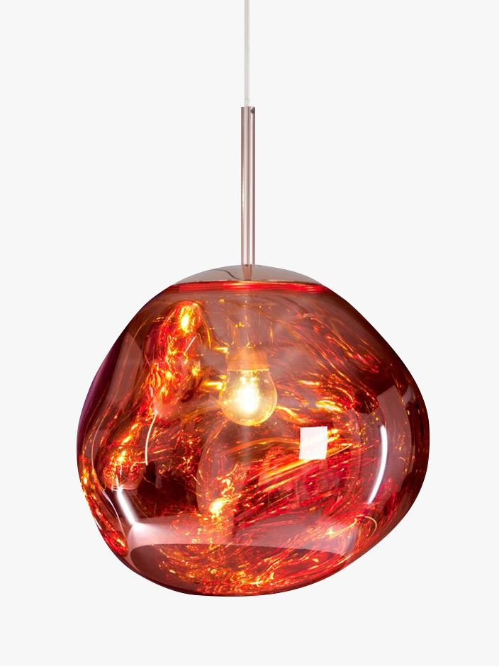 Lights & Lighting Latest Collection Of Amber Hand Blown Glass Chandelier Living Room Bedroom Art Decorative Led Lights And Lighting Extremely Efficient In Preserving Heat