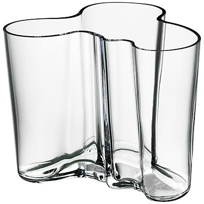 IIttala Aalto Vase, H12cm, Clear