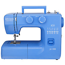 Buy John Lewis JL110 Sewing Machine, Cornflower Blue Online at johnlewis.com