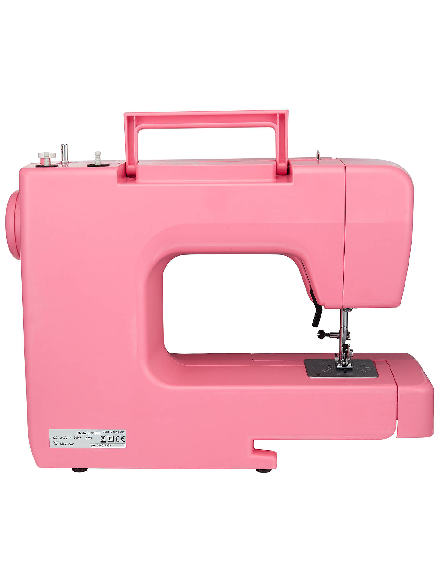 Buy John Lewis & Partners JL110 Sewing Machine, Pink Online at johnlewis.com