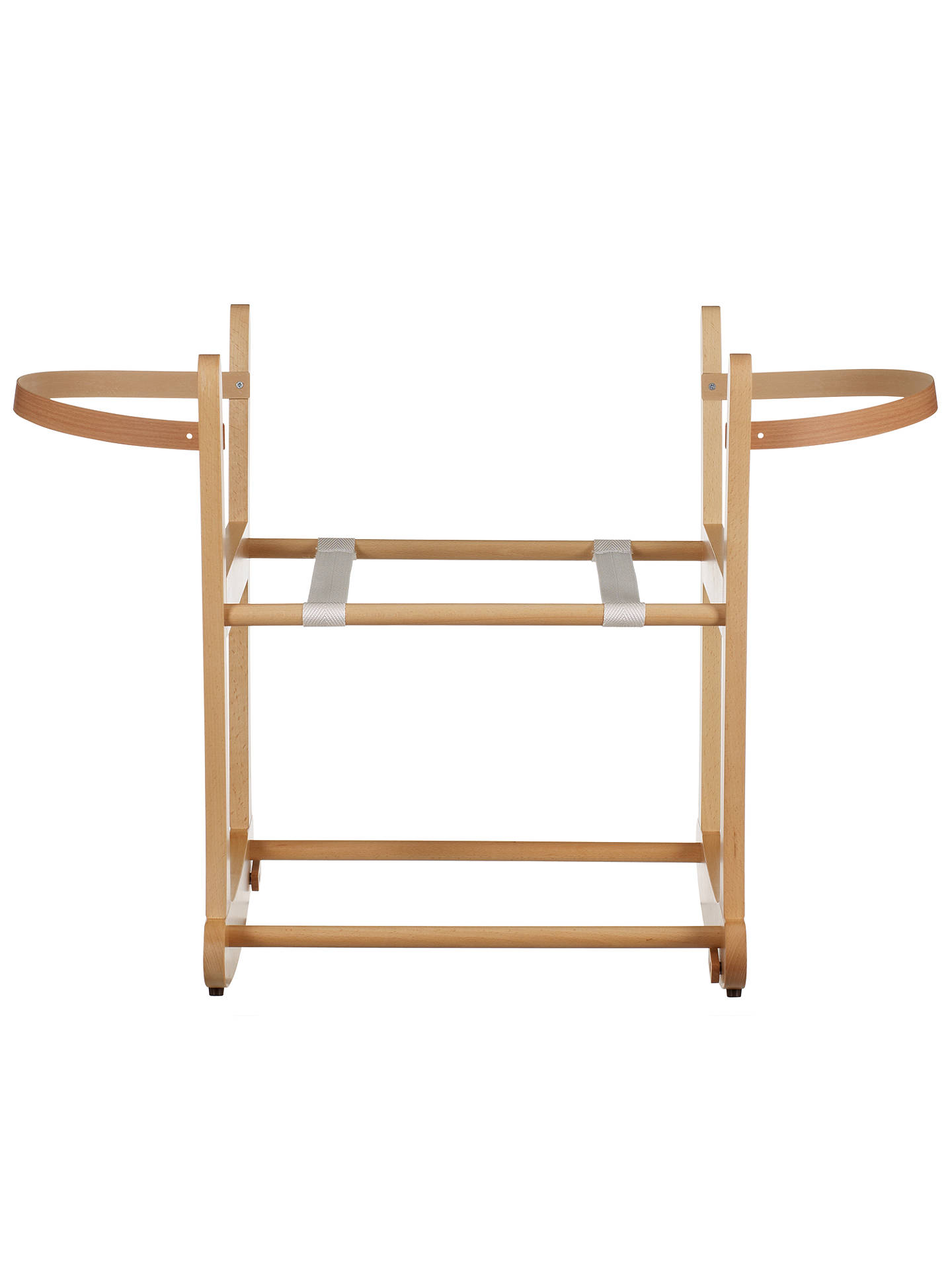 9cde83f6a2e9 Buy John Lewis & Partners Rocking Moses Basket Stand, Natural Online at  johnlewis.com