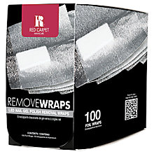 Buy Red Carpet Manicure LED Nail Polish Remover Wraps, x 100 Online at johnlewis.com