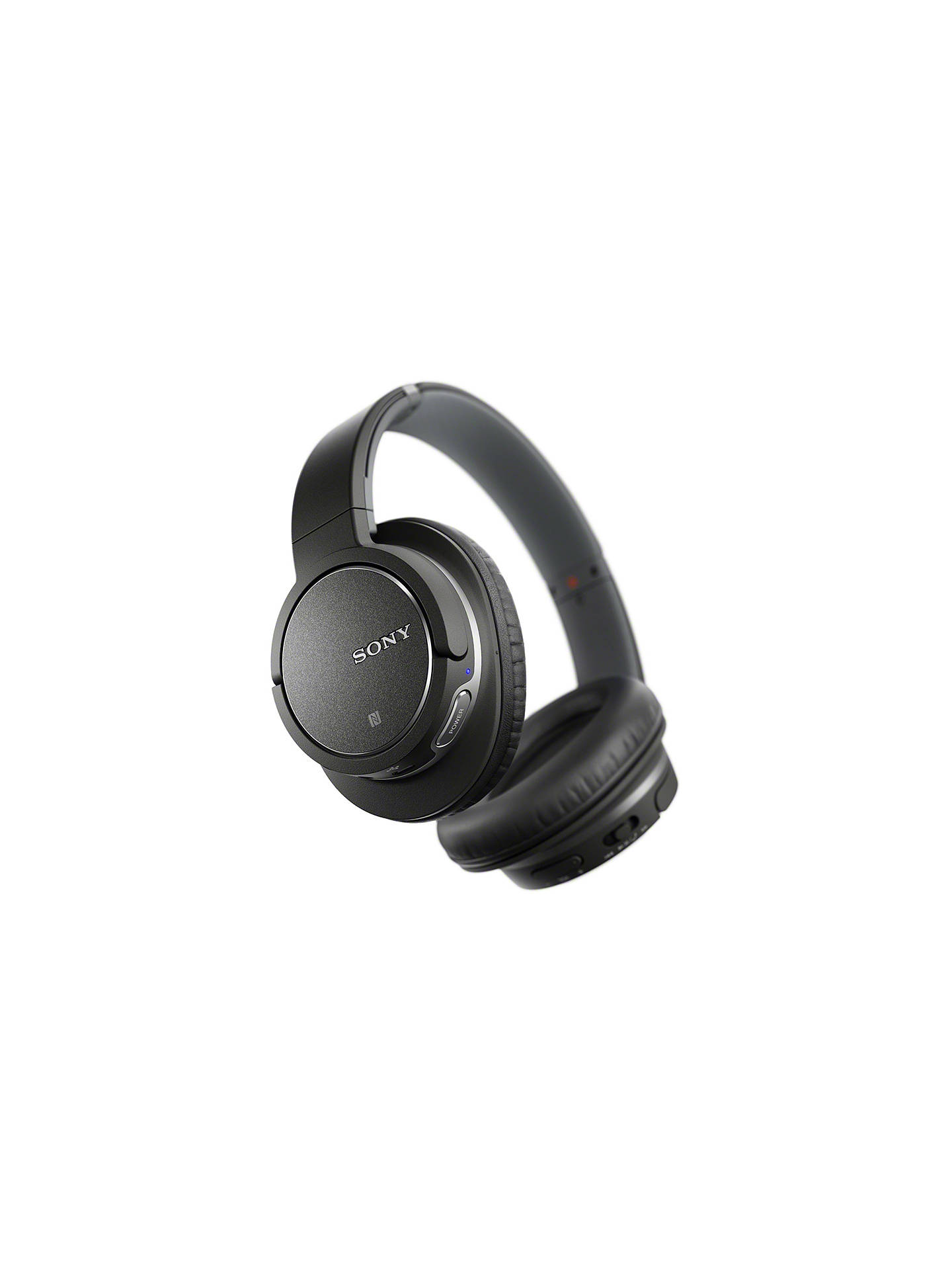 BuySony MDR-ZX770BN Noise Cancelling Bluetooth Over-Ear Headphones with Mic/Remote, Black Online at johnlewis.com
